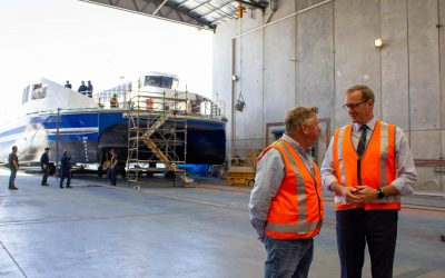 New ferry set to service Bruny Island residents and visitors