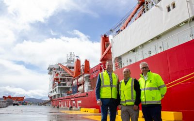Antarctic gateway an economic highway