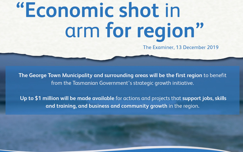 Economic stimulus plan for George Town