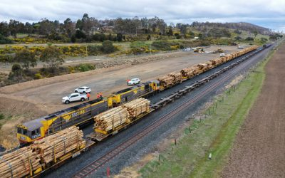 Record achievement by TasRail: northern exports growing