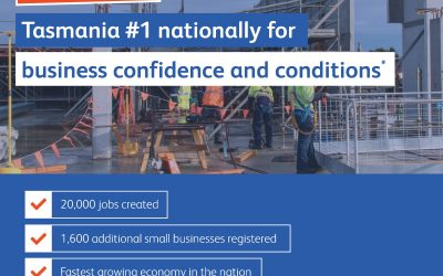 Business confidence bucks national trend