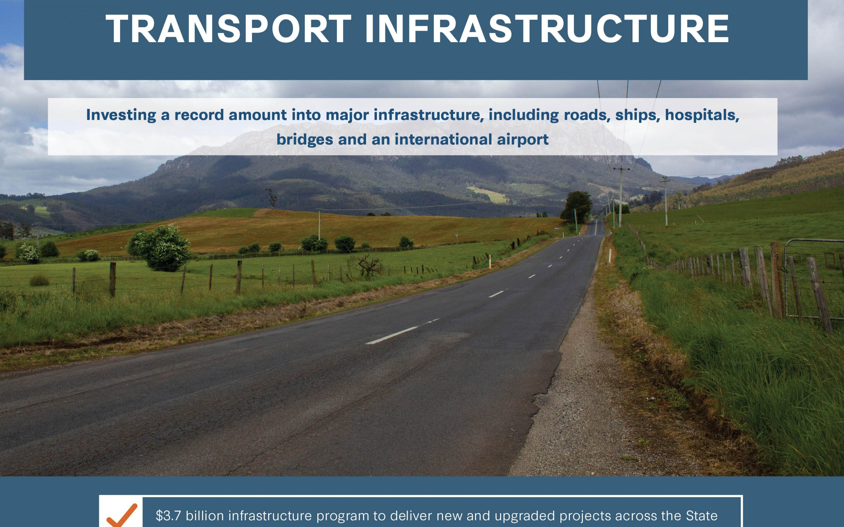 Record infrastructure investment driving the economy and business confidence