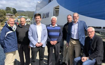 Building a faster future for Bruny ferries