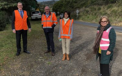 Contractor announced for four West Tamar Highway priority projects