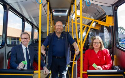 Get on board this Seniors Week 2020 with free bus travel