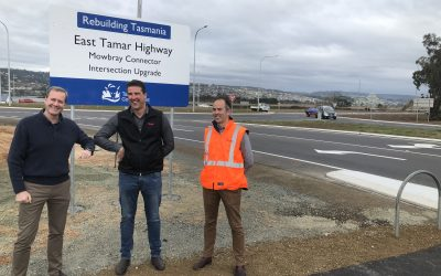 Work completed on Mowbray Connector