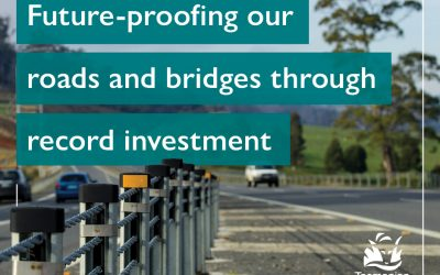 Massive investment in roads and bridges