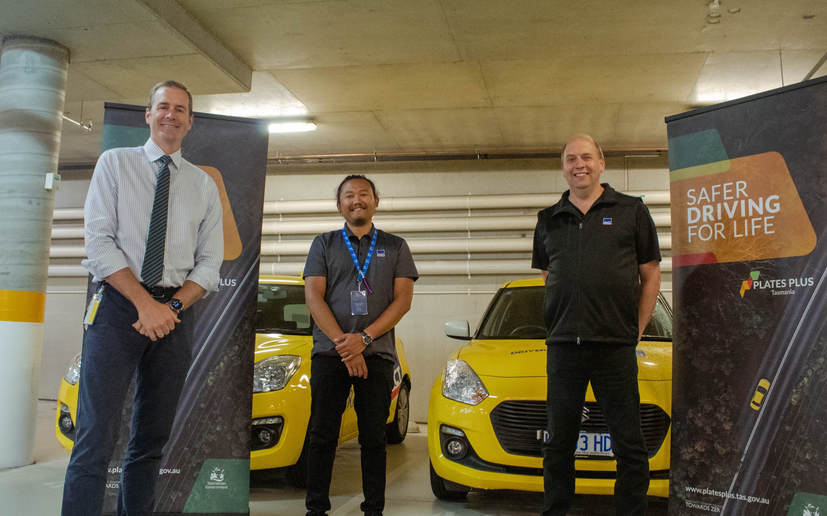 Plates Plus free lesson for Tasmanian learner drivers