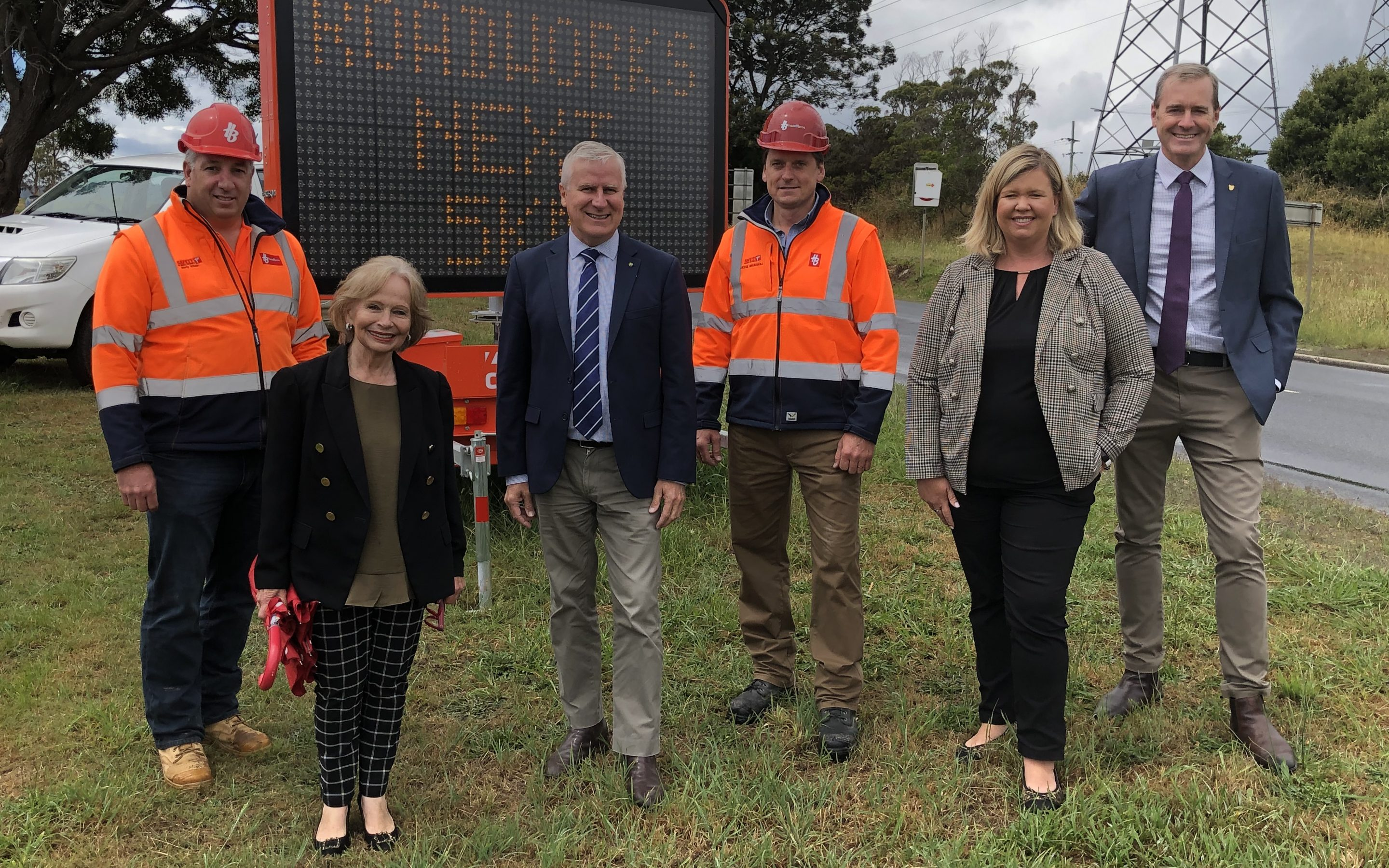 Work starts on first stage of Northern Tasmania freight route