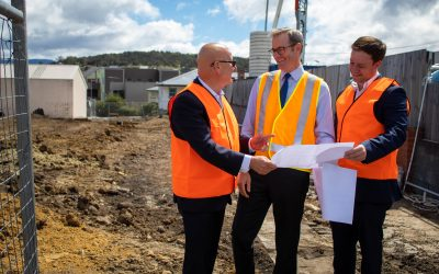 State of the State address: Securing Tasmania's Future
