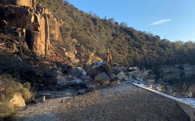 Tasman Highway at Paradise Gorge to reopen on Thursday