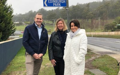 Delivering priority road upgrades along the West Tamar Highway