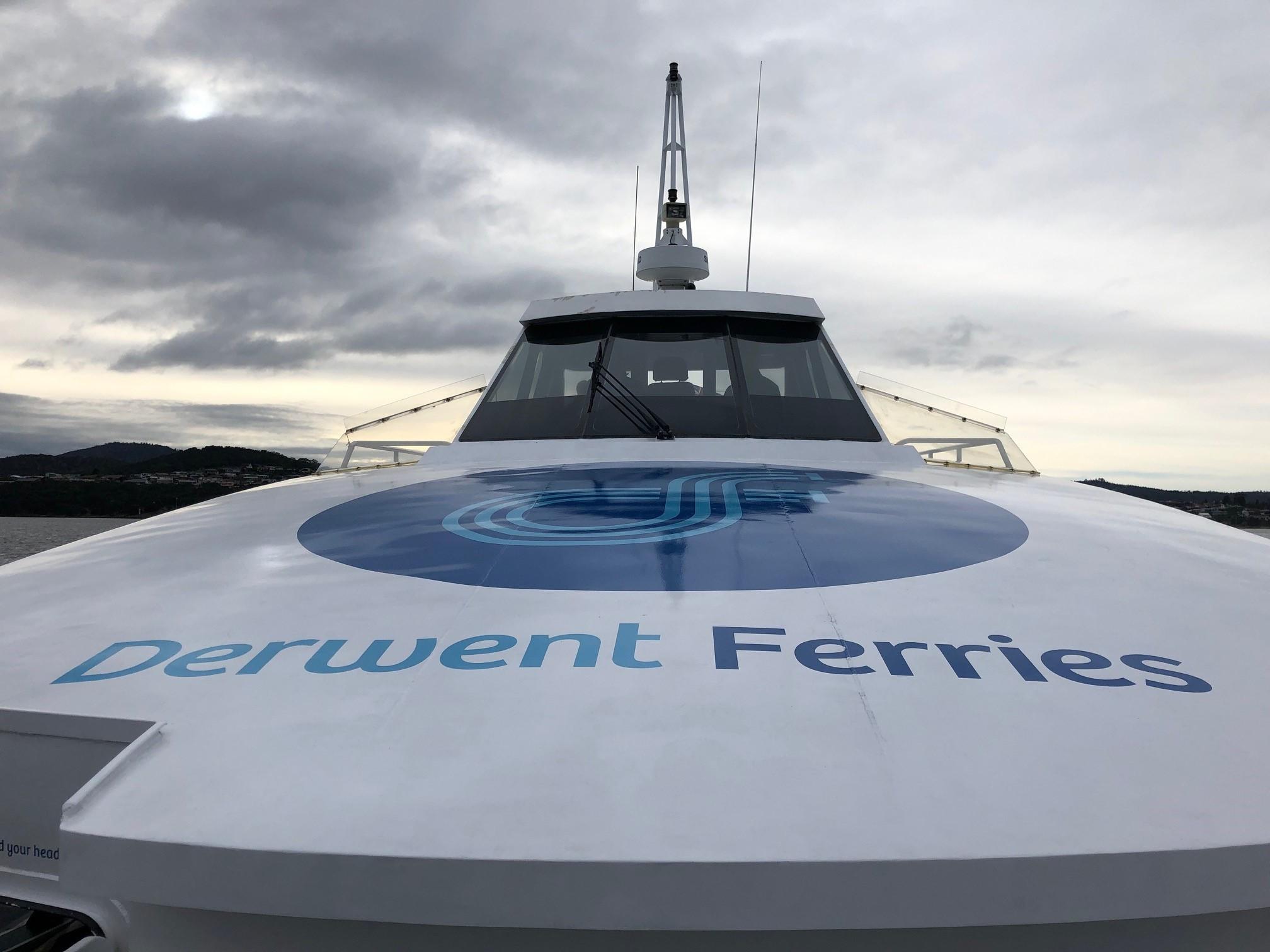 Derwent Ferry sea trials begin