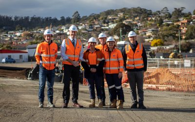 Work progresses on East Derwent Highway duplication