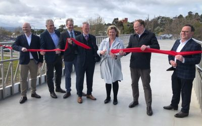 New North Esk River pedestrian and cycle bridge officially open