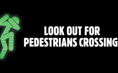 Put away the phone while crossing the road