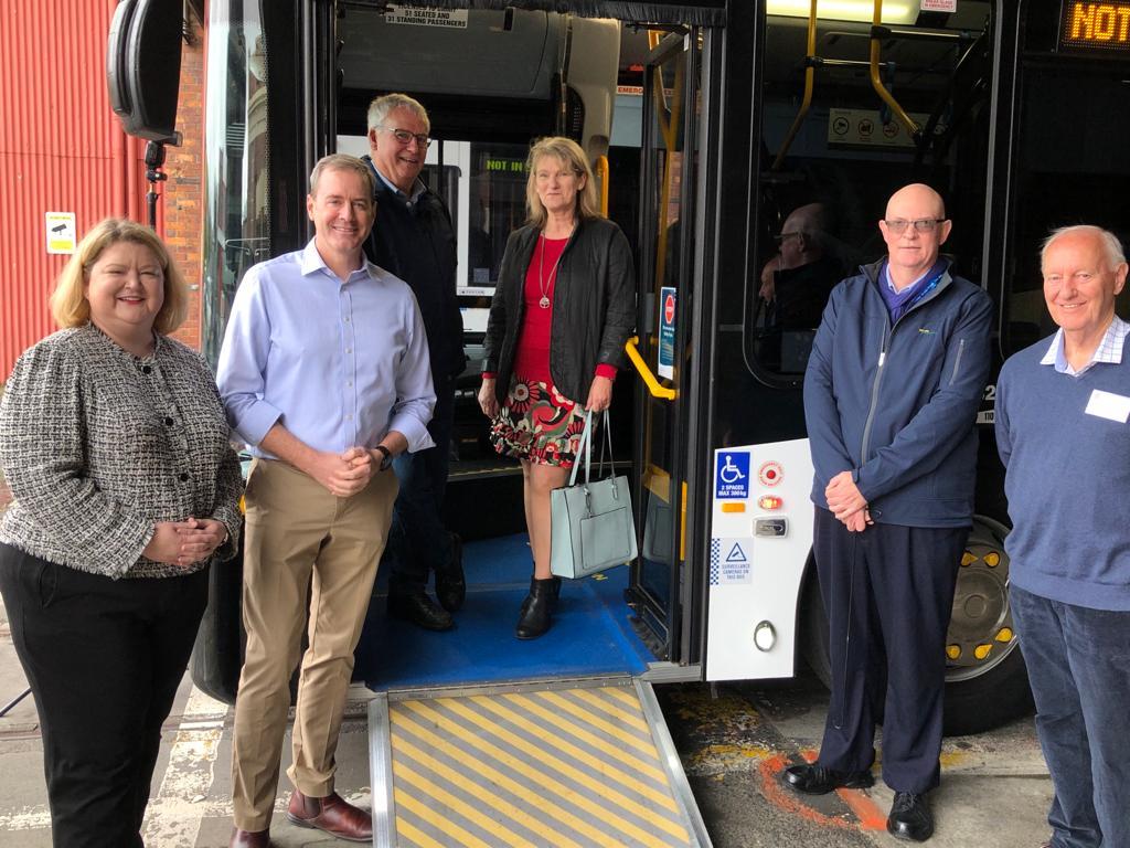 Free bus travel for seniors during Seniors Week